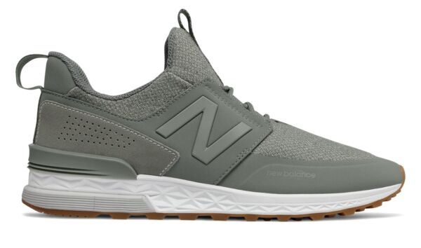 New Balance Male Men's 574 Sport Mens Lifestyle Shoes Green With Green