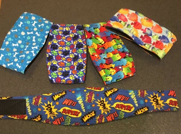 5 Dog Belly BandsMale Dog Diaper Wraps Clothes TrainingHousebreaking $23.99