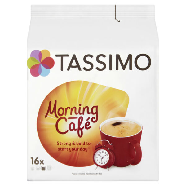 TASSIMO Morning Cafe coffee pods  k-cups -5 PACK- SHIPPING WORLDWIDE