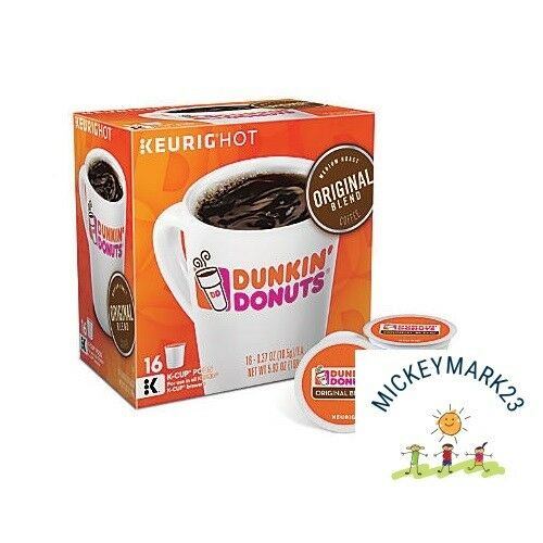 Dunkin Donuts Original Blend K-Cups coffee 192 Count - FREE SHIPPING