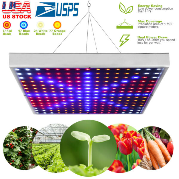 LED Full Spectrum Plant UV Grow Light Veg Lamp For Indoor Hydroponic Plant