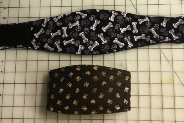 2pk Male Dog Belly Band Wraps Larger Dogs 1XL 9XL $26.98