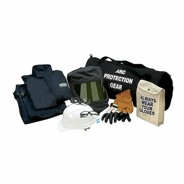 CHICAGO PROTECTIVE APPAREL AG20-JP 20CAL ARC FLASH KIT WGLOVES 4XL NO TAX