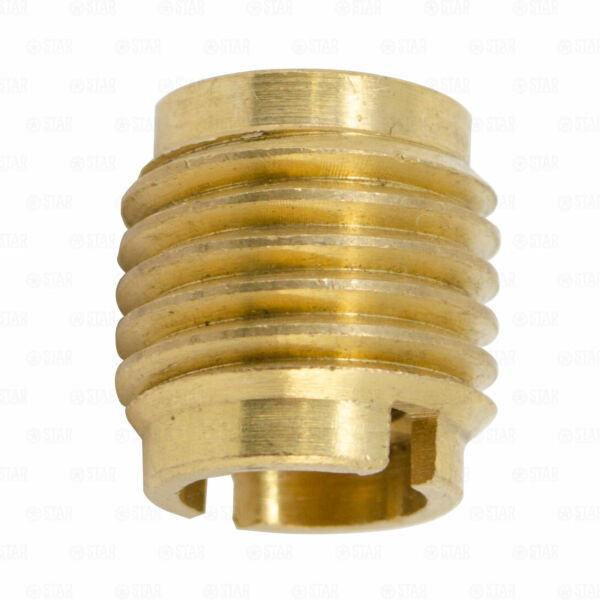 Beer Tap Handle Threaded Screw in Brass Faucet Insert Nut Ferrule 3 8 Threads