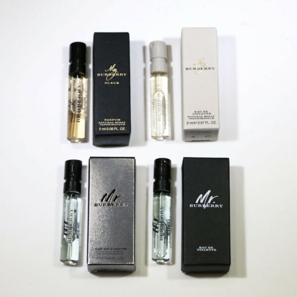 Burberry Parfum Spray Sample Set Choose Your Favorite *New In Box* $12.98