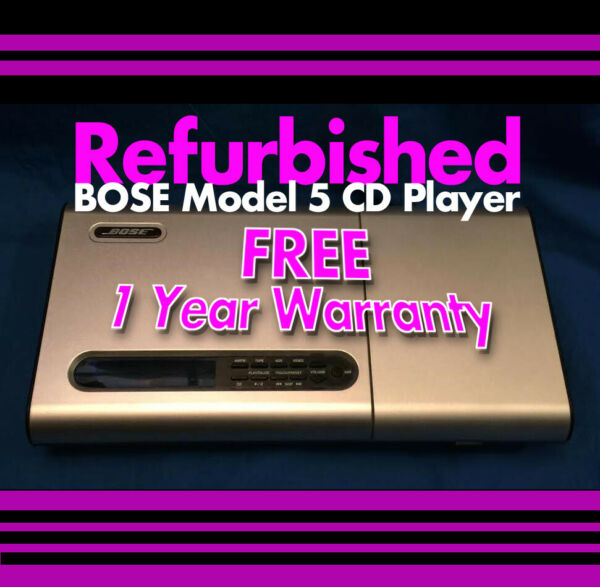 Bose Music Center Model 5 AM/FM CD Player for Lifestyle 3,5,8,12  Works Perfect!