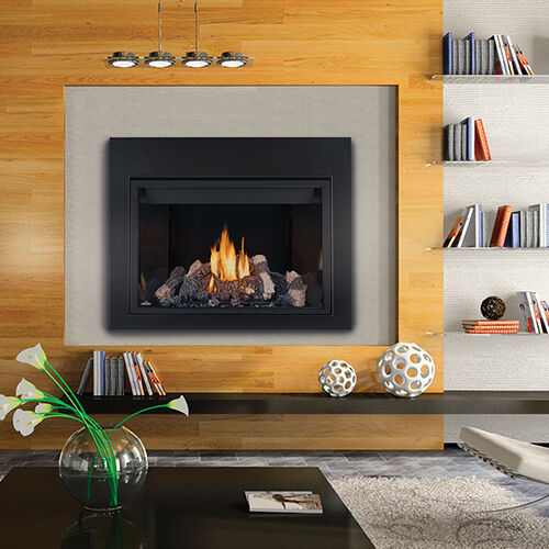 NAPOLEON HD46 LARGE DIRECT VENT CLEAN FACE HD SERIES PROPANE GAS FIREPLACES 46