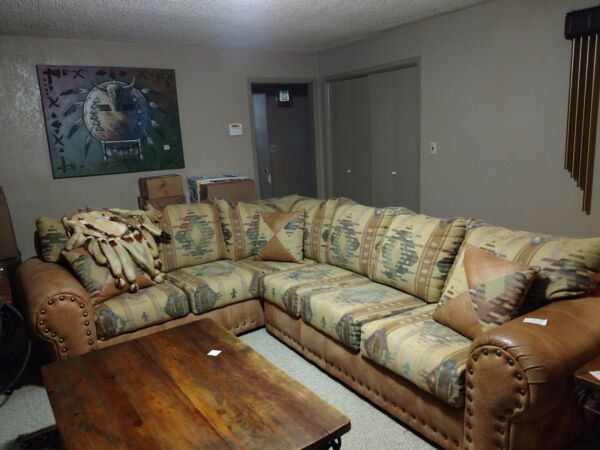 Southwest sofa sectional set slightly used. $2500.00
