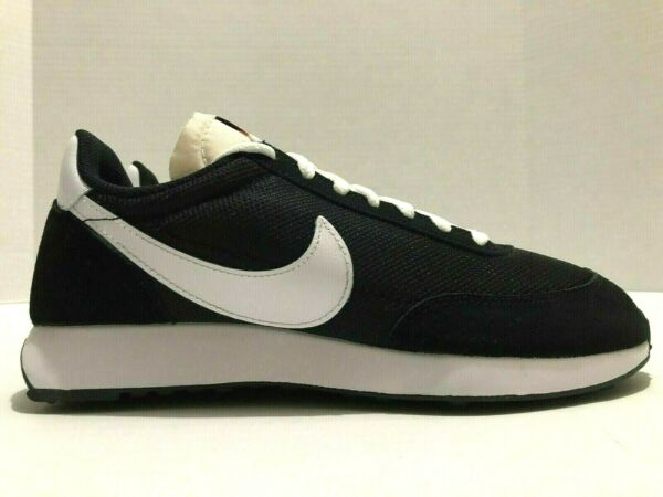 Nike Mens Size 7.5 Womens 9 Air Tailwind '79  Black White Shoes 487754 009