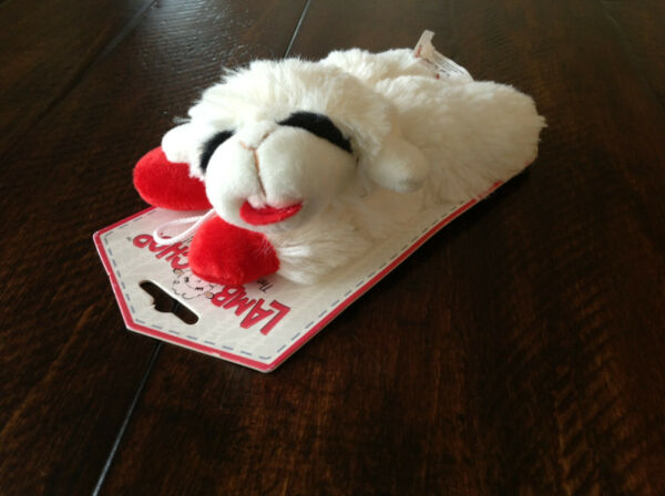 THE LAMB ! THE LEGEND ! Lamb Chop Dog Toy with Squeaker AWESOME for SMALL DOGS