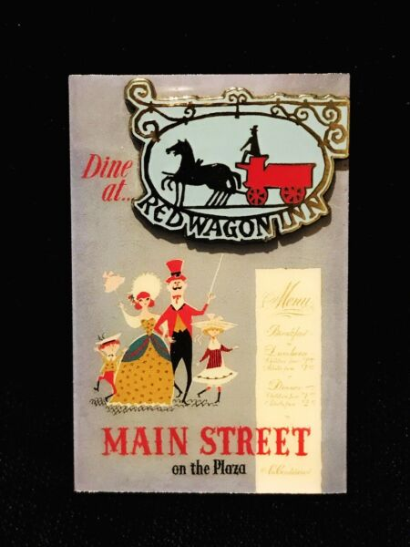 Disney Restaurants Series Annual Passholder Exclusive Dine At Red Wagon Inn Pin