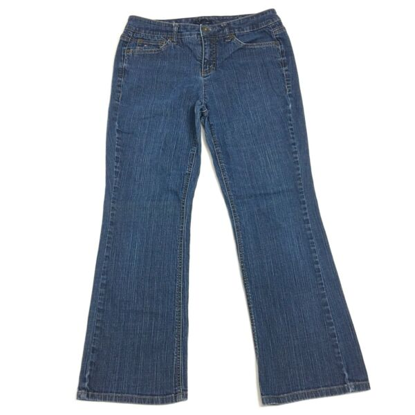 Tommy Hilfiger Womens Jeans American Hope Classic Rise Bootcut Size 10 $14.99