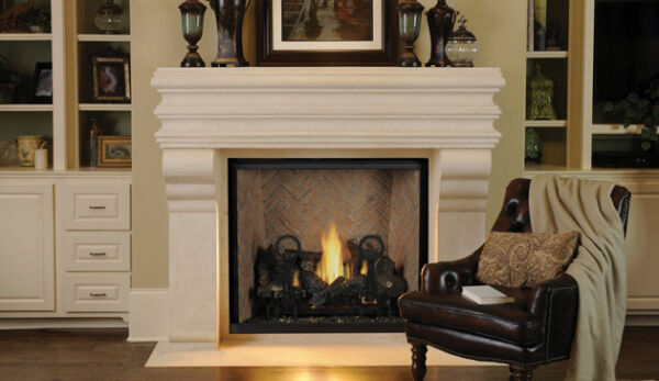 Superior DRT6345 Direct-Vent Fireplace Clean Face 45-inch Traditional New