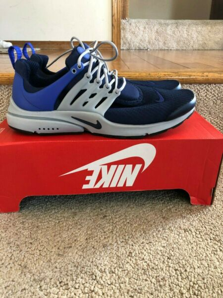 Nike Air Presto Essential Mens 848187-400 Paramount Blue Running Shoes