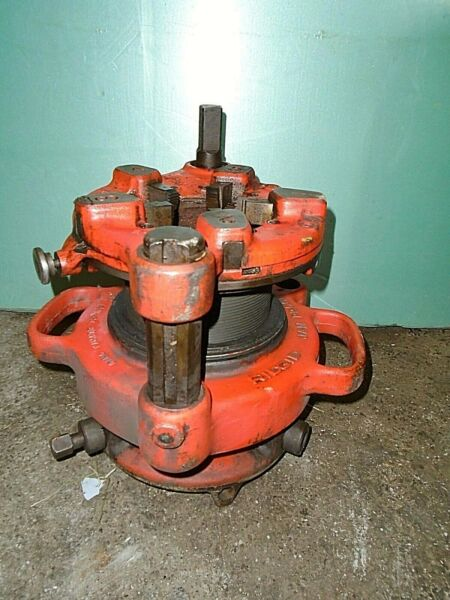 RIDGID 141 RECEDING GEAR PIPE THREADER THREADING 2-12