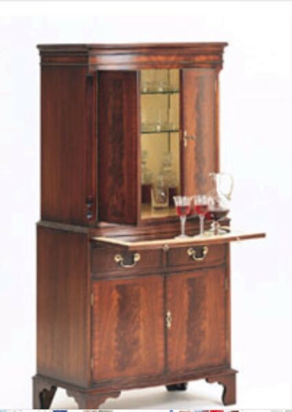 Bevan Funnell Yew Wood Bookcases 2 Avail British English Orig $10878 Each