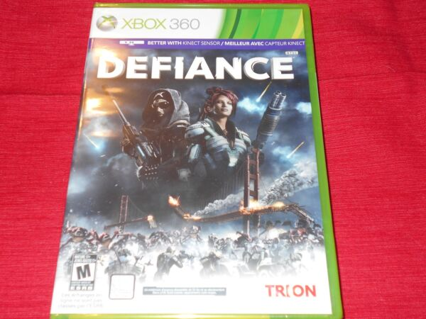 DEFIANCE XBOX 360 FACTORY SEALED FREE FAST SHIP UNDER $10 $8.99
