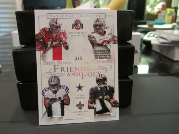 National Treasures Friends and Foes Ezekiel Elliott Michael Thomas 35  2016