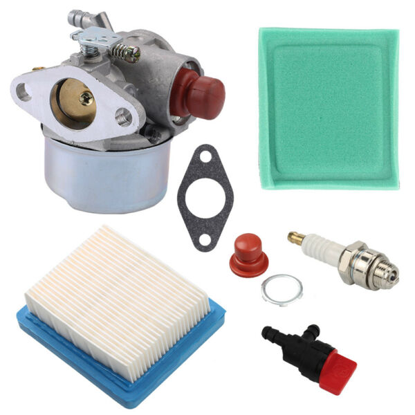 Carburetor Air Filter For Tecumseh Go Kart 5 5.5 6 6.5HP OHV HOR Engine Carb