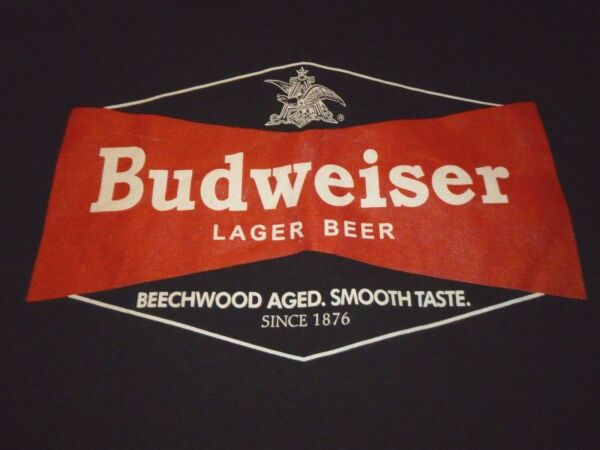 Budweiser Shirt Size XL NEW