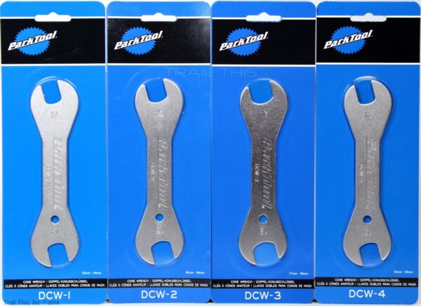 Park Tool DCW 1 2 3 4 Double Ended Bicycle Cone Wrench Set 13mm 14 15 16 17 18mm $23.80