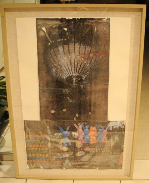 Robert Rauschenberg SIGNED NUMBERED and FRAMED Tribute 21 (Children) Series