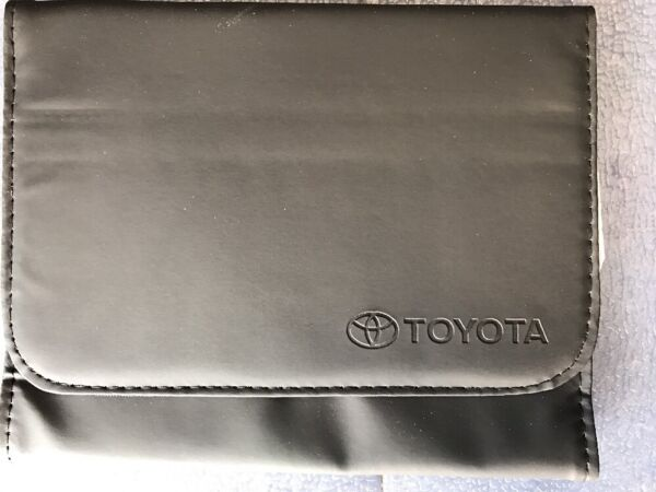 Toyota Owners Manual Cover Case OEM Brand NEW