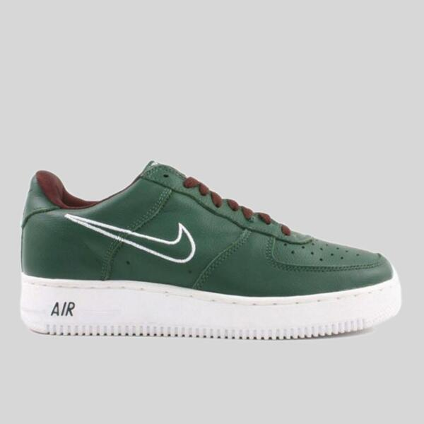 Nike Air Force 1 Low Hong Kong Milwaukee Bucks Giannis Green White Mens 10 Shoes