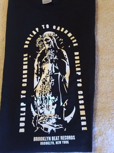BURLAP TO CASHMERE BAND CONCERT BLACK amp; WHITE T SHIRT M BROOKLYN NY COOL
