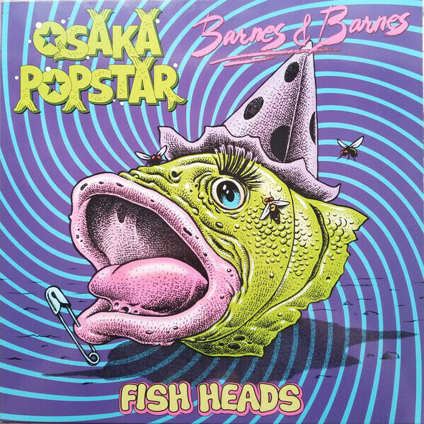 Osaka Popstar - Fish Heads Vinyl LP Misfits Ramones Album RECORD STORE DAY 2019