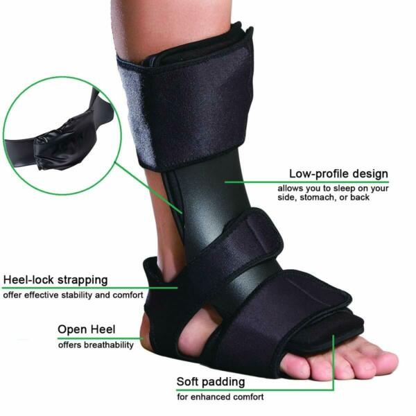 Adjustable Dorsal Night Splint DNS for Effective Relief from Plantar Fasciitis