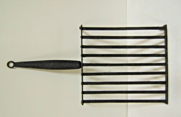 Grill For Bake At Fireplace Iron Forge Hand Tool Popular Art Xixè