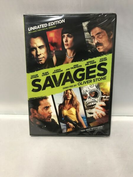 Savages John Travolta Salma Hayek and Survivor  Pierce Brosnan Brand New! Sealed