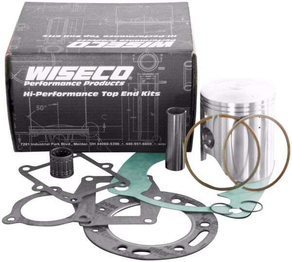 RM125 Wiseco Suzuki Piston Bearing Gasket Top End Rebuild Kit 2000-2003 PK1180