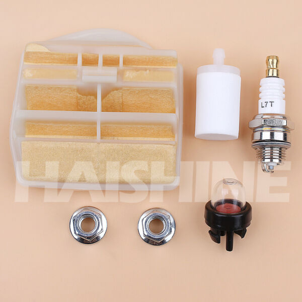 Air Filter Tune Up Kit For 445 450 Rancher 445E II Husqvarna Chainsaw 531309681