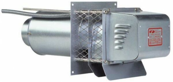 4-In Heater Accessories LP-Gas Natural-Gas Oil-Fired Outside Mounted Power Vent