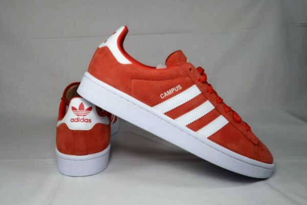 Adidas Mens Campus Athletic Shoes Size 9 Coral db0984