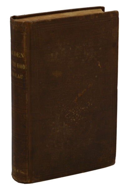 WALDEN or Life in the Woods by HENRY DAVID THOREAU ~ First Edition 1854 ~ 1st