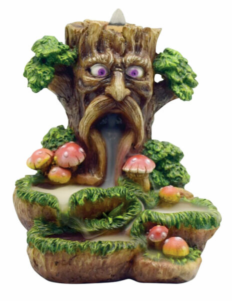 Tree Backflow Incense Burner - Polyresin  6