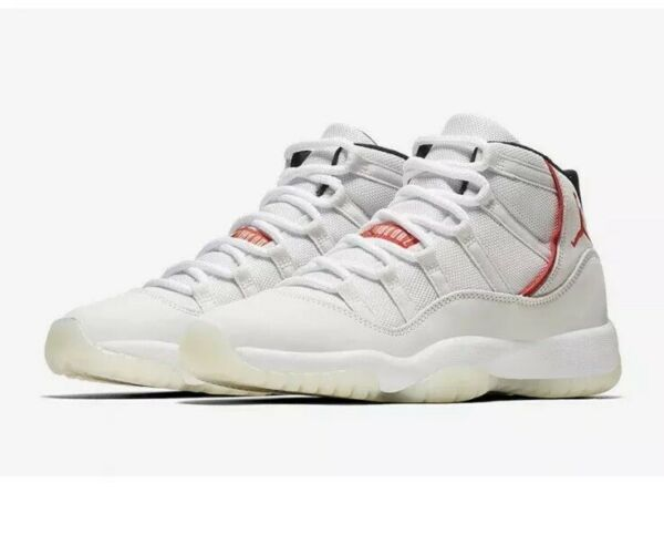 Nike Air Jordan XI Retro 11 Men's Size 14 Platinum Tint 378037-016 Rare