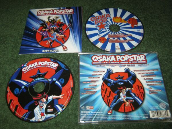 Osaka Popstar and the American Legends Of Punk (cd  dvd set) misfits