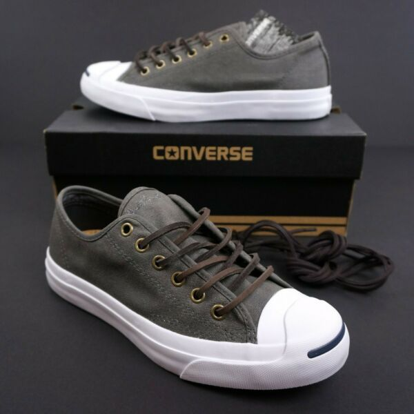 NEW Converse Jack Purcell JP Ox Low Top Cork Rare Storm Wind Grey US M 5.5   W 7