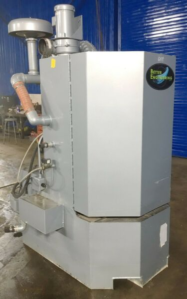 Rotary Table Parts Washer 30quot; x 36quot; Better Engineering F3000SS Heated Stainless