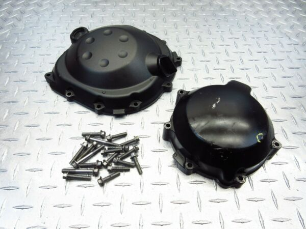 2008 08 09 KAWASAKI ZG1400 CONCOURS 1400 ABS CLUTCH STATOR COVERS HARDWARE CASES $46.45