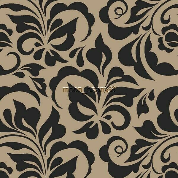 2 Yard 34 Inches Printed Burlap Floral 2 inches shorter than 3 yards