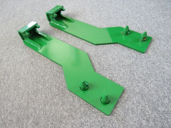 Tractor Loader Quick Tach Weld On Mounting Brackets Fits John Deere - Free Ship!