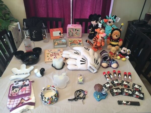 Disney Collection - Entire Lot - Movies Books Games Ornaments and more!