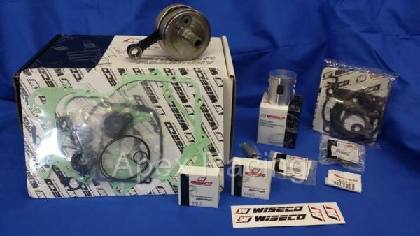 WISECO Top Bottom End SUZUKI RM125 2001-2003 Engine Rebuild Kit Crank  Piston