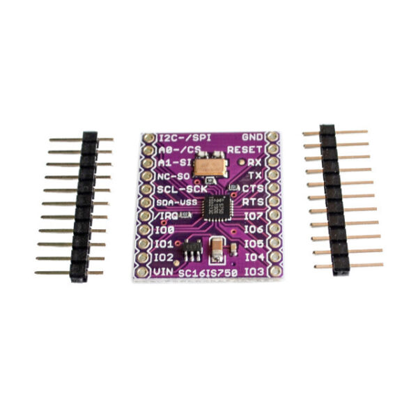 CJMCU-750 SC16IS750 Single UART With I2C-BusSPI Interface For IndustrialControl
