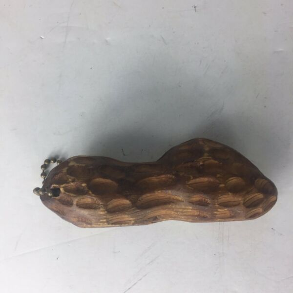 Antique Handcarved Solid Wood Georgia Peanut Factory $30.00